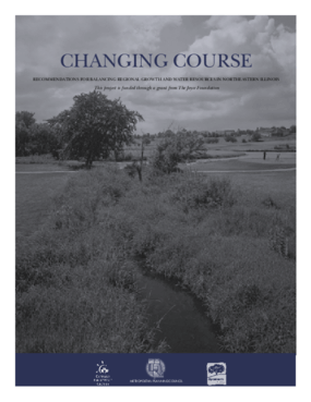 Changing Course: Recommendations for Balancing Regional Growth and Water Resources in Northeastern Illinois