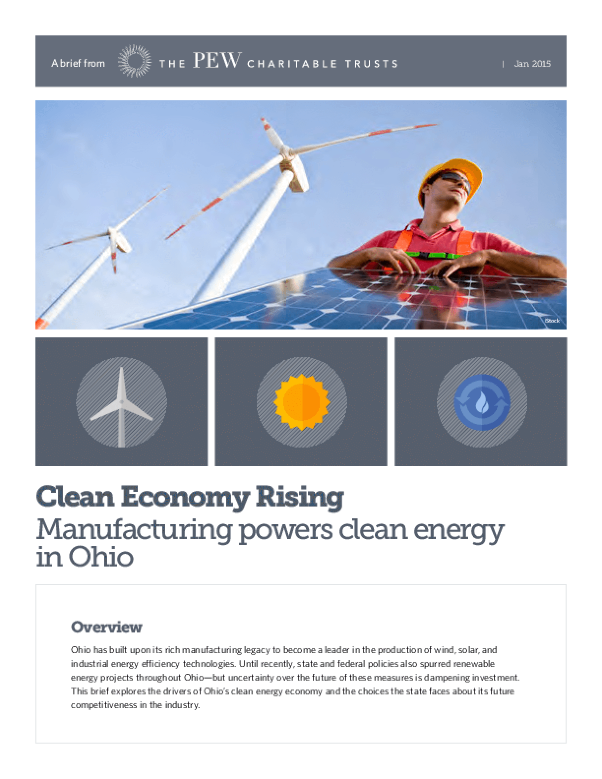 Clean Economy Rising: Manufacturing Powers Clean Energy in Ohio