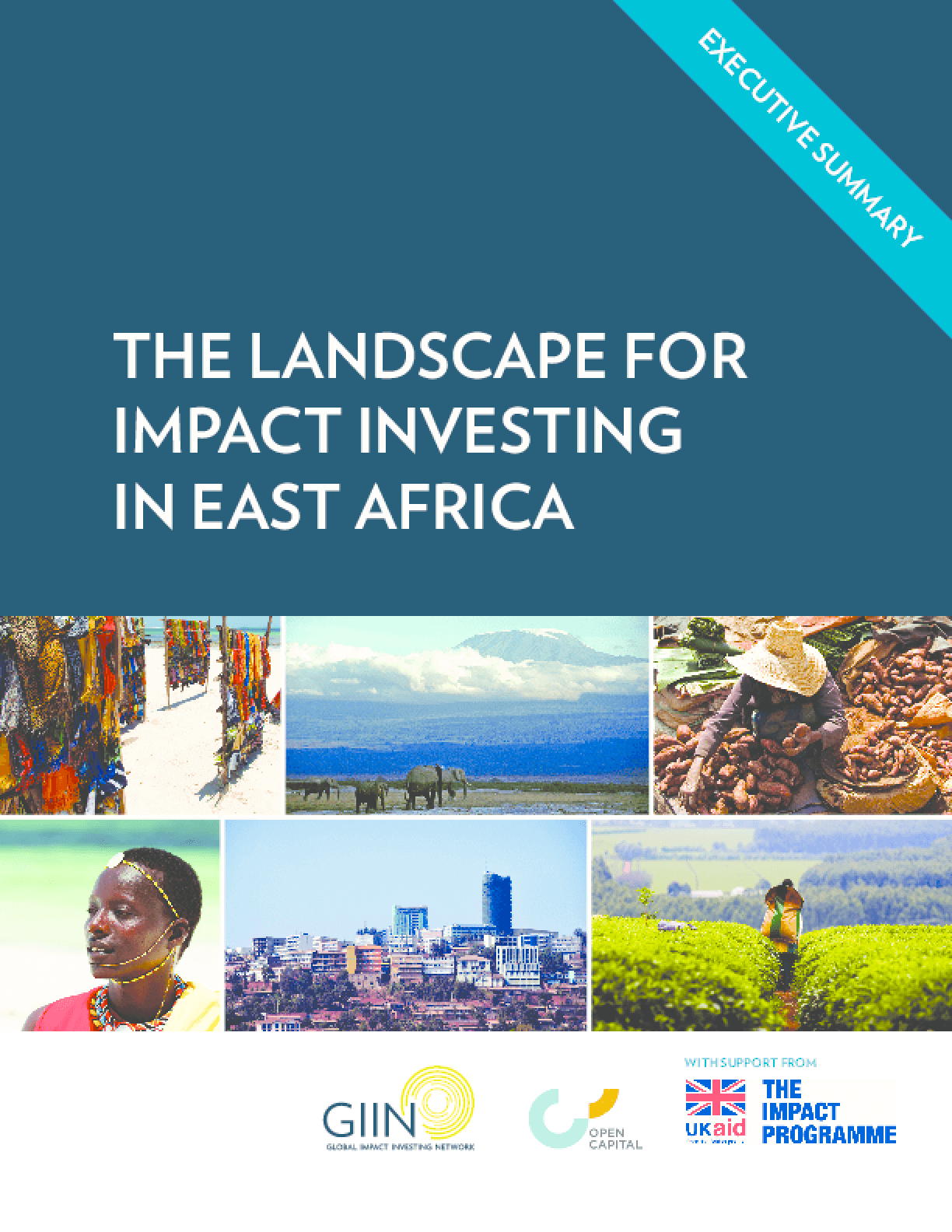 The Landscape for Impact Investing in East Africa