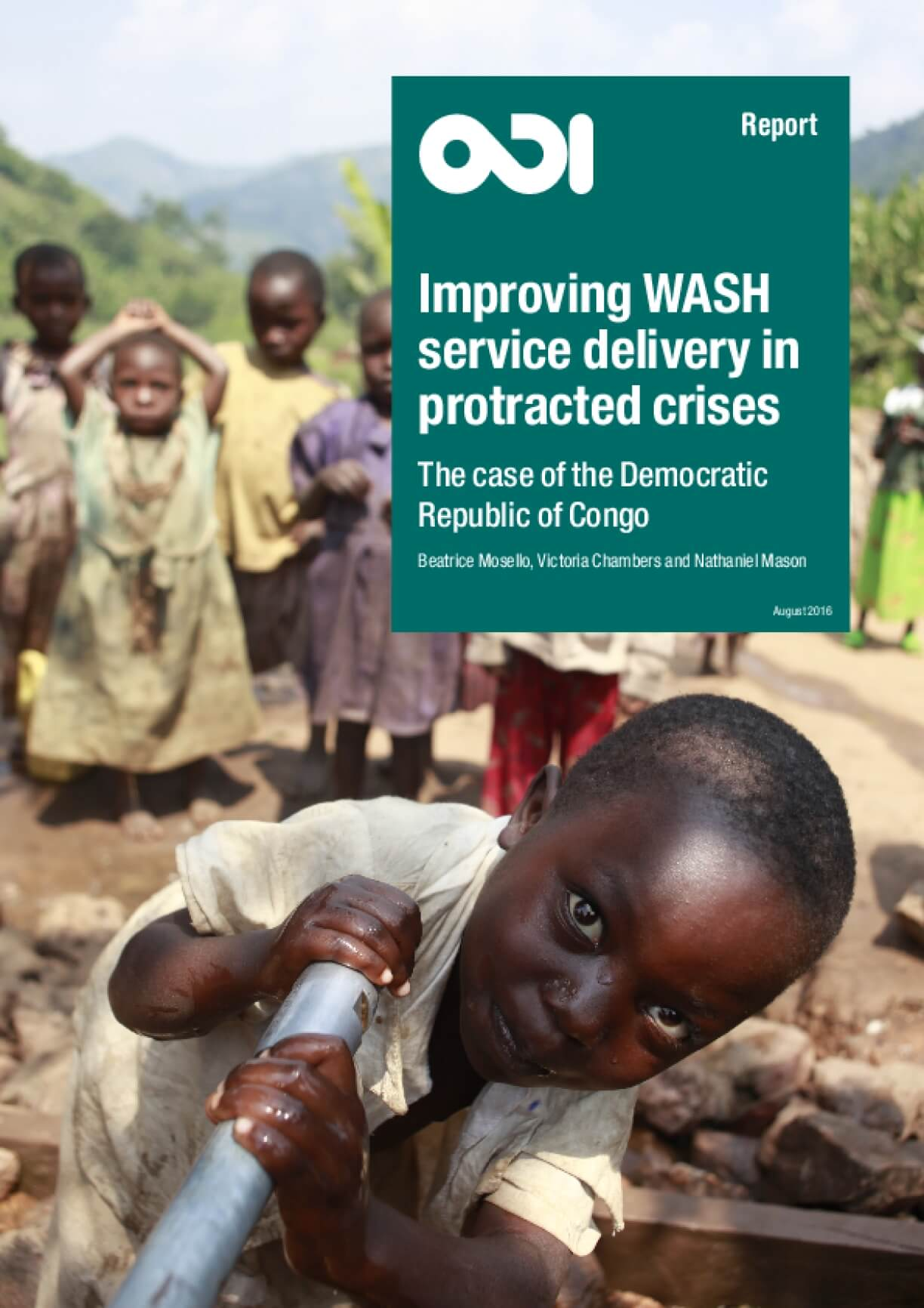 Improving WASH Service Delivery in Protracted Crises: The Case of the Democratic Republic of Congo