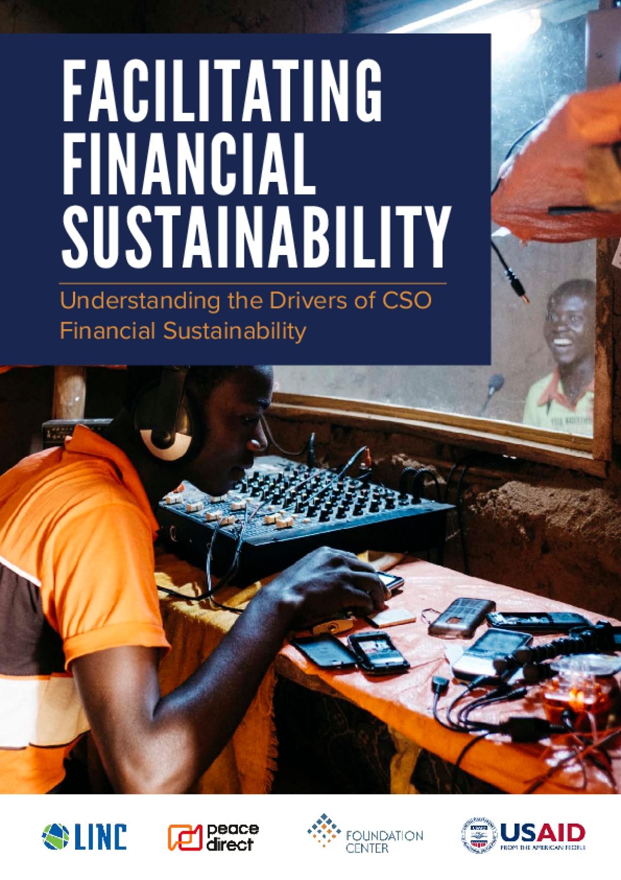 Facilitating Financial Sustainability: Understanding the Drivers of CSO Financial Sustainability