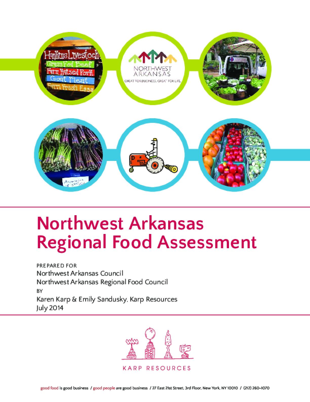 Northwest Arkansas Regional Food Assessment
