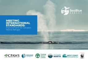 Meeting International Standards: Improvements for Canada's Marine Refuges