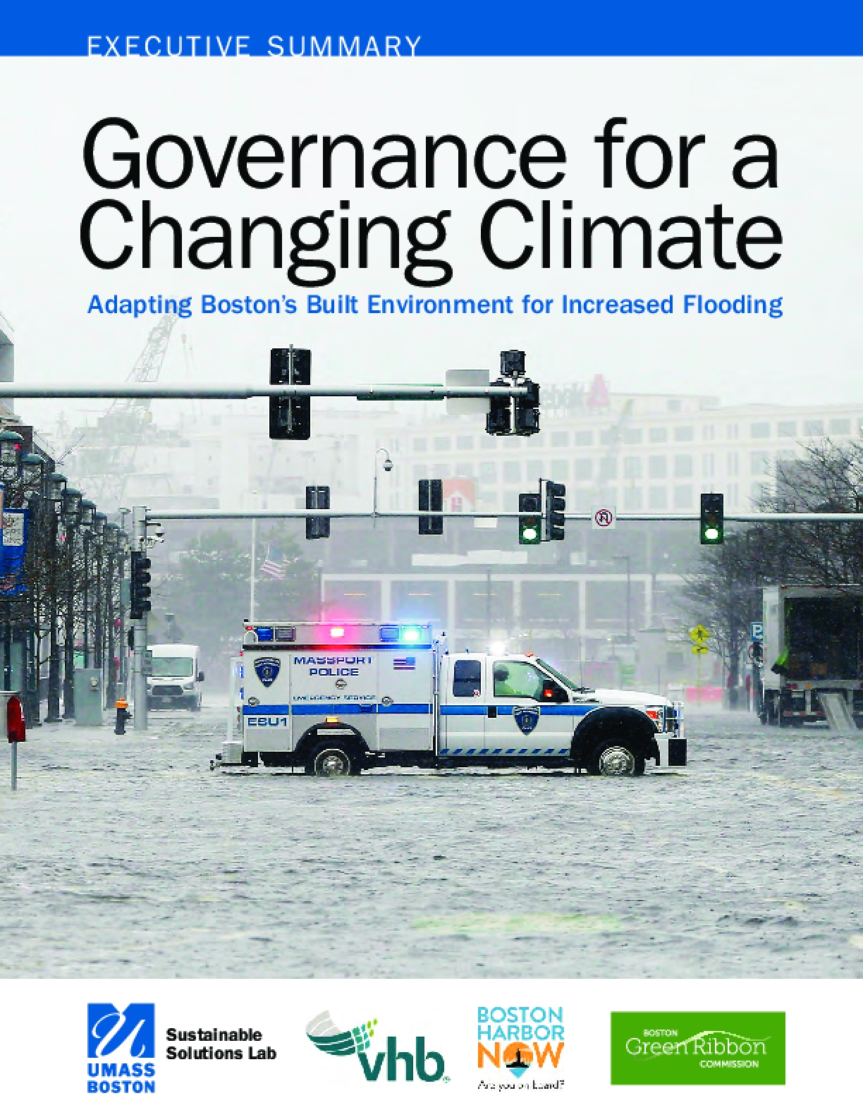 Governance for a Changing Climate: Adapting Boston's Built Environment for Increased Flooding