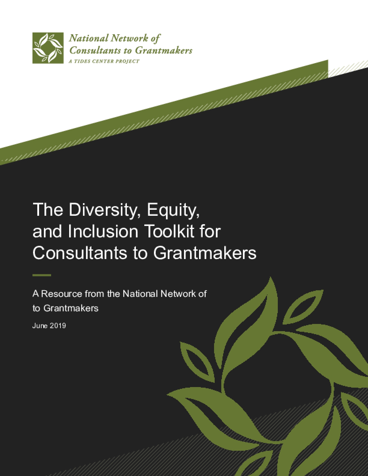 The Diversity, Equity, and Inclusion Toolkit for Consultants to Grantmakers