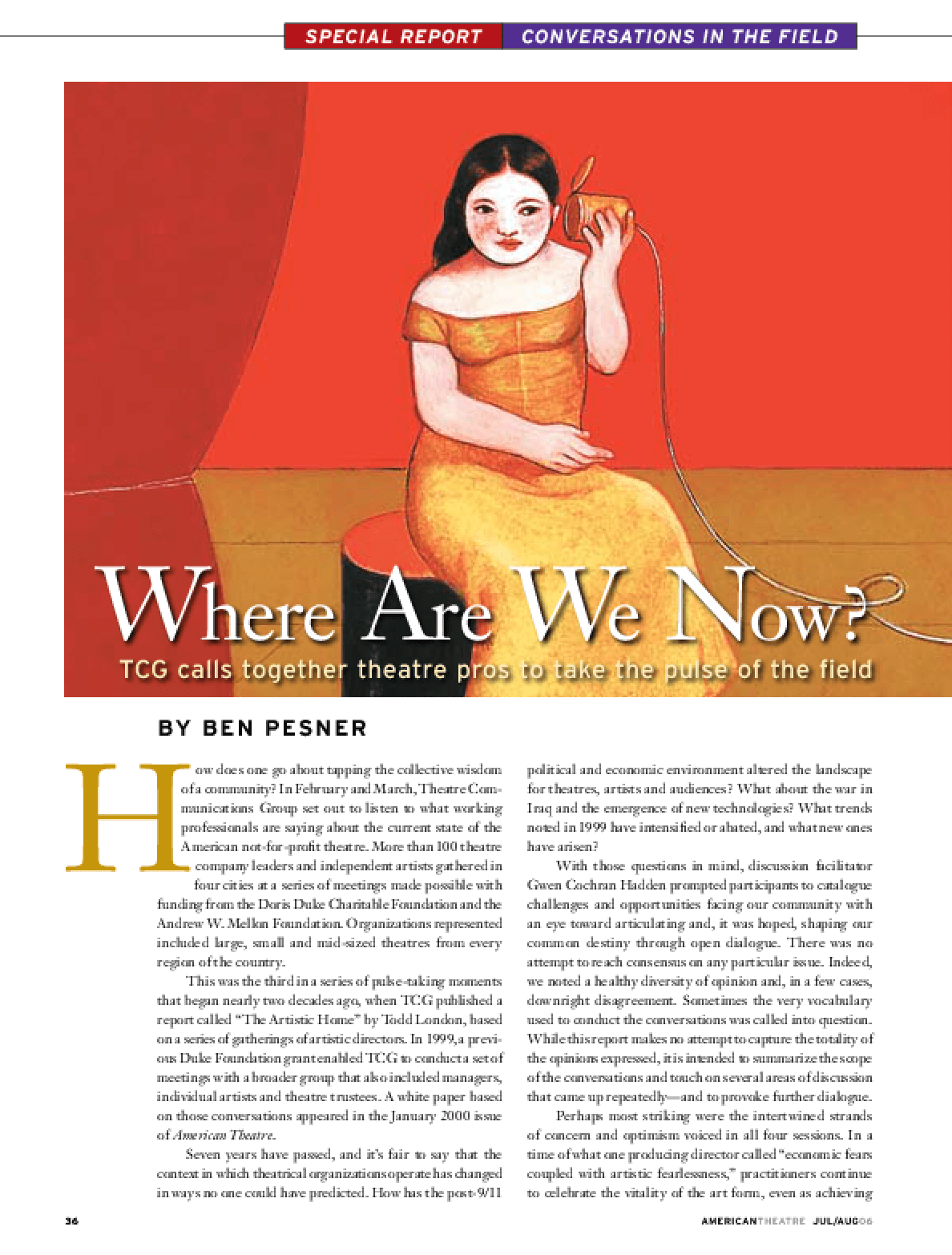 Conversations in the Field: Where Are We Now?