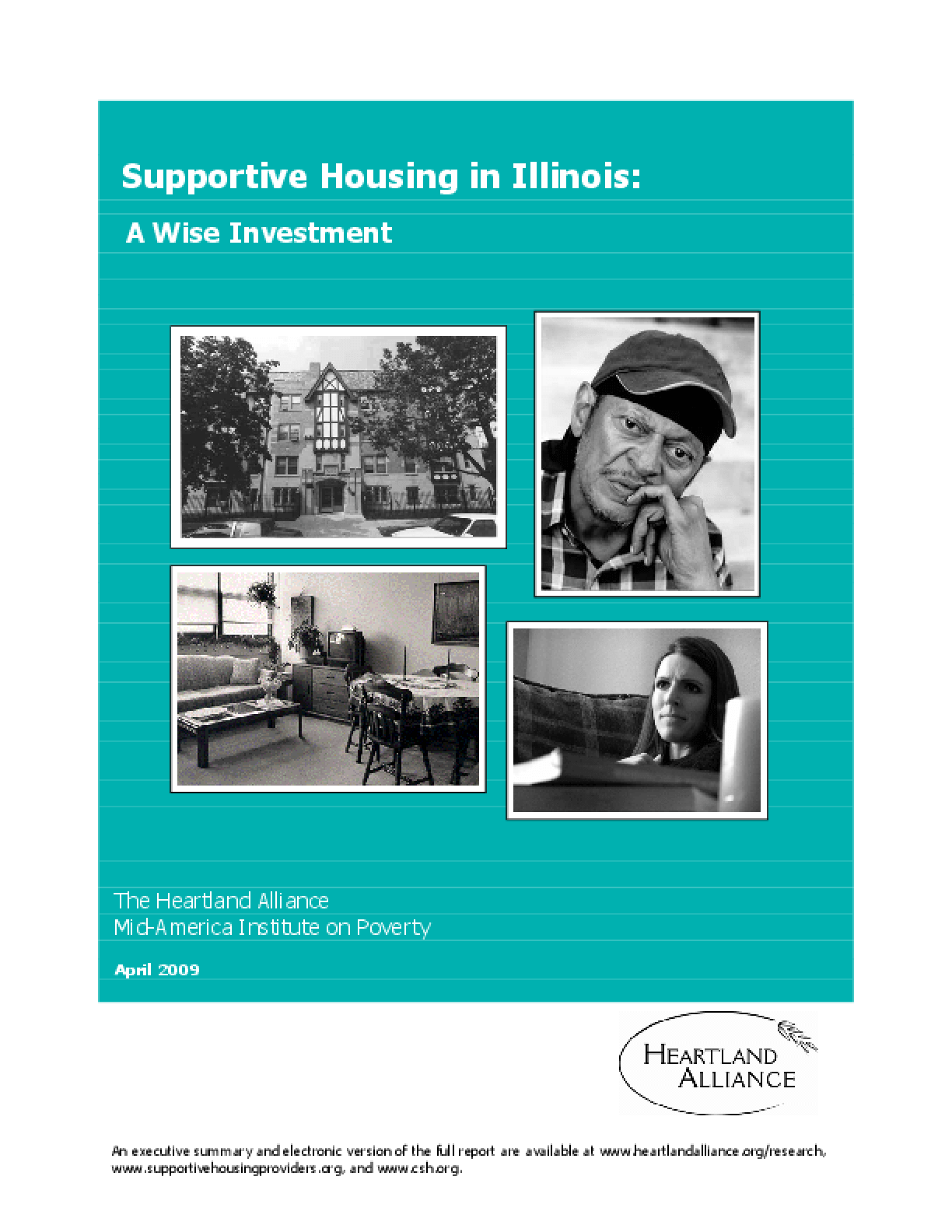Supportive Housing in Illinois: A Wise Investment