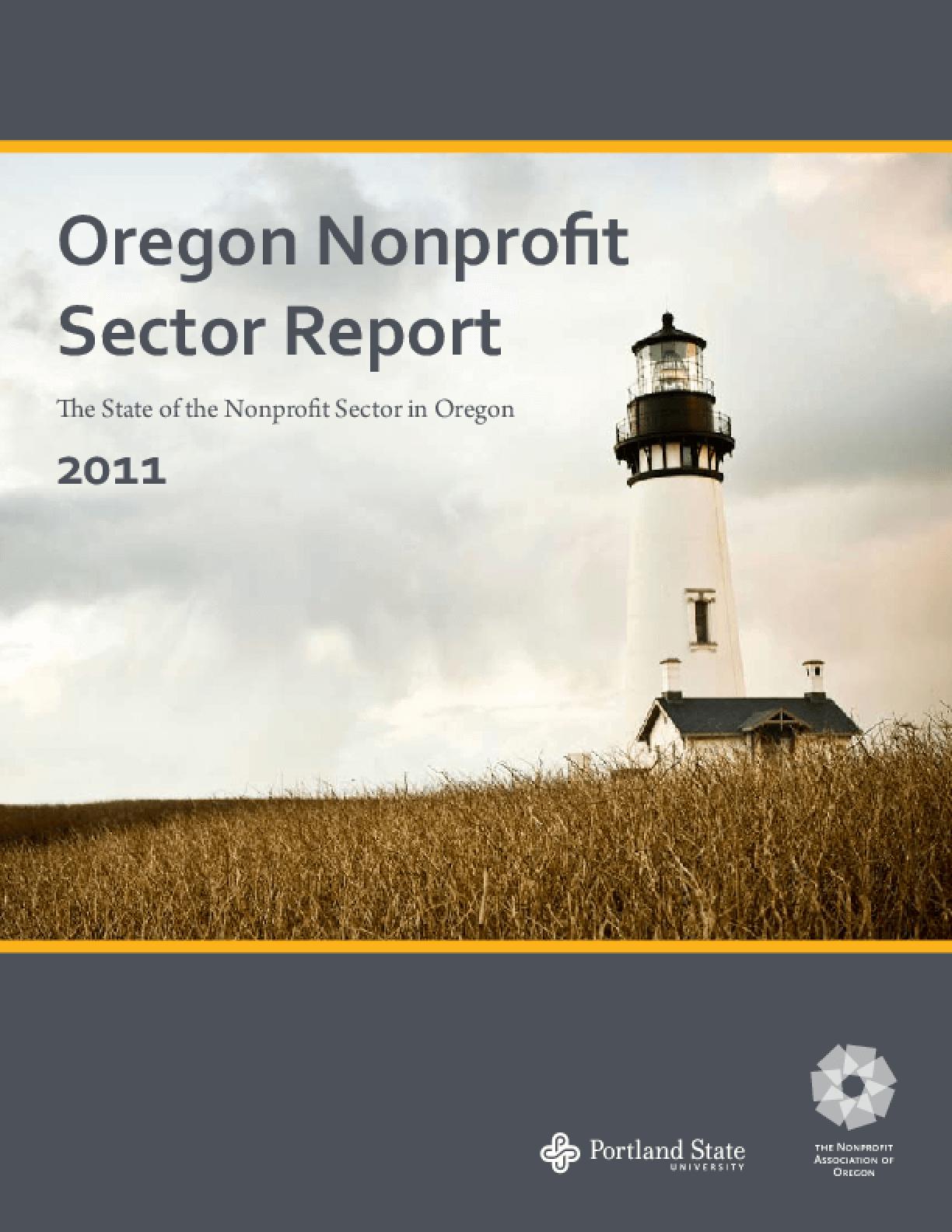 Oregon Nonprofit Sector Report