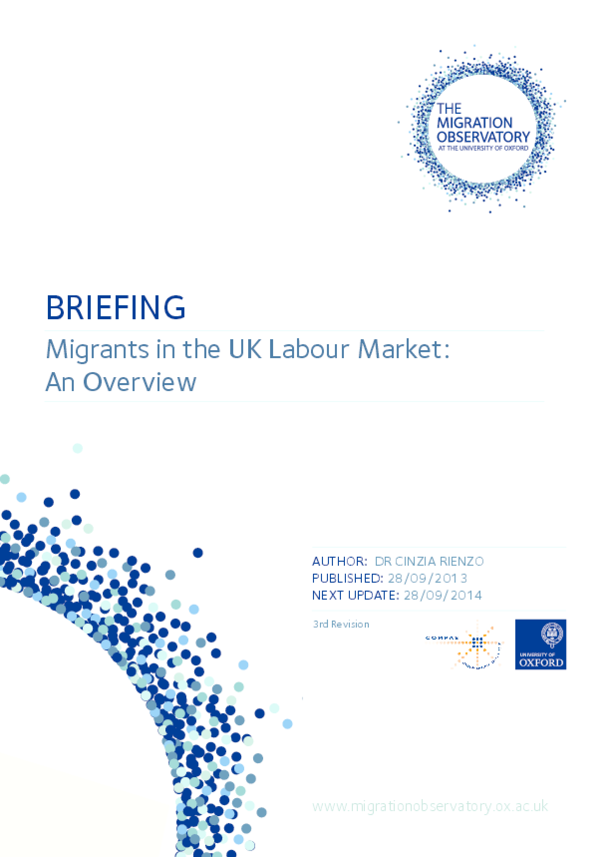 Migrants in the UK Labour Market: An Overview