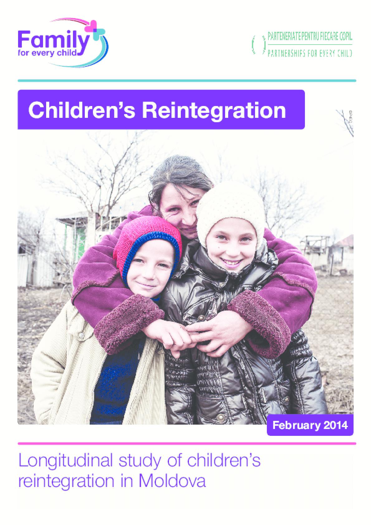 Longitudinal Study of Children's Reintegration in Moldova
