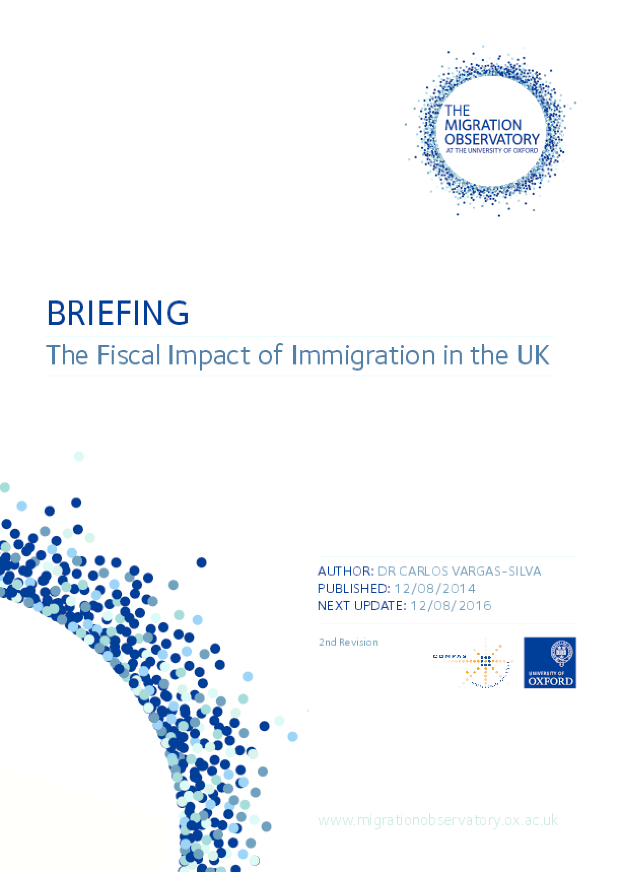 The Fiscal Impact of Immigration in the UK