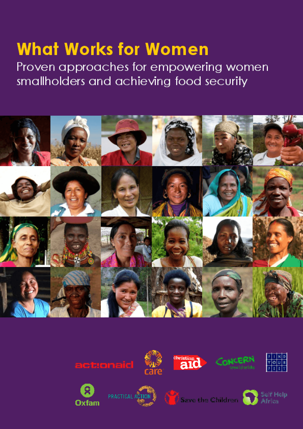 What Works for Women: Proven Approaches for Empowering Women Smallholders and Achieving Food Security