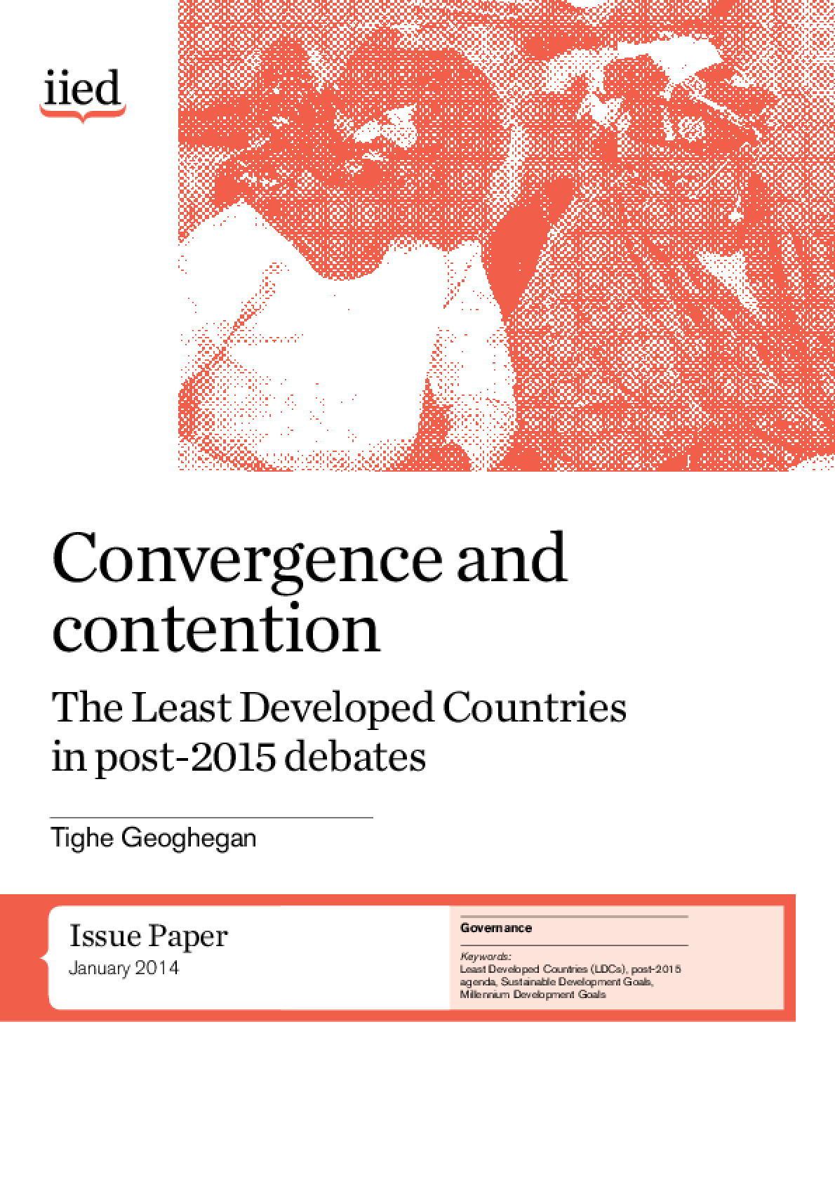 Convergence and Contention: The Least Developed Countries in Post-2015 Debates