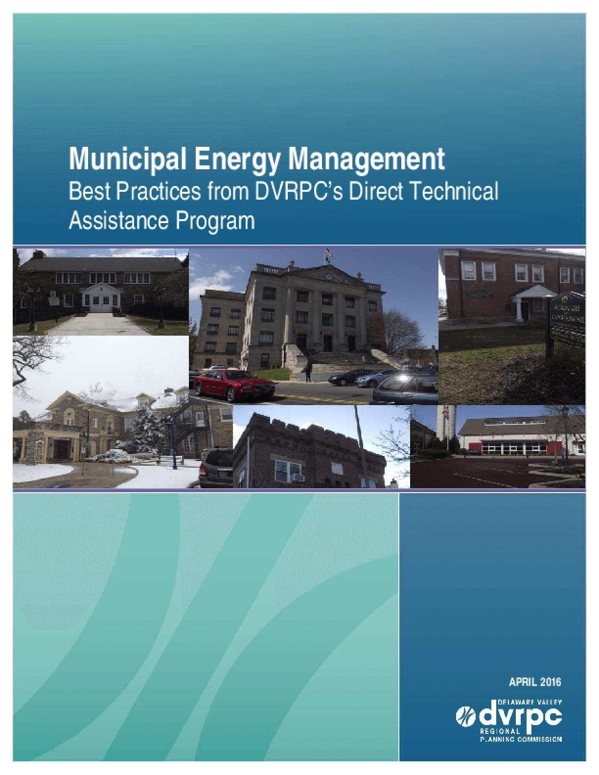 Municipal Energy Management: Best Practices from DVRPC's Direct Technical Assistance Program