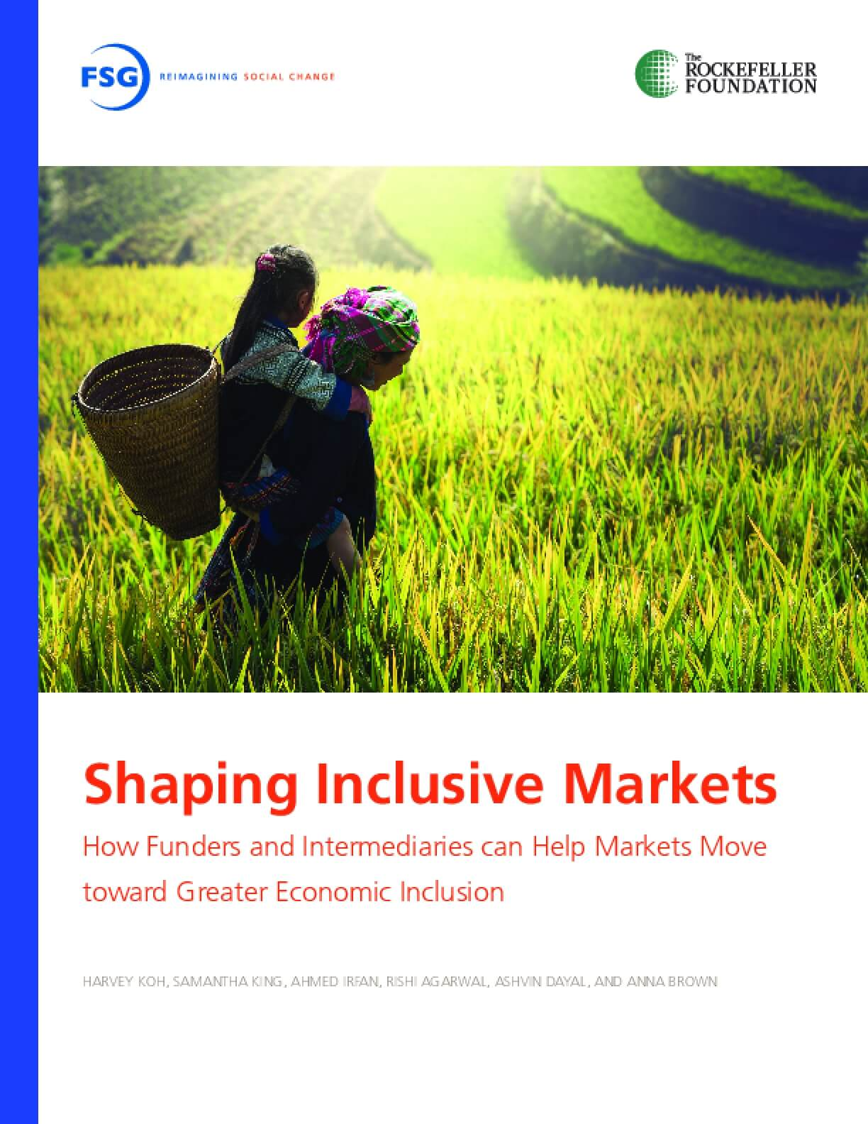 Shaping Inclusive Markets: How Funders and Intermediaries can Help Markets Move toward Greater Economic Inclusion