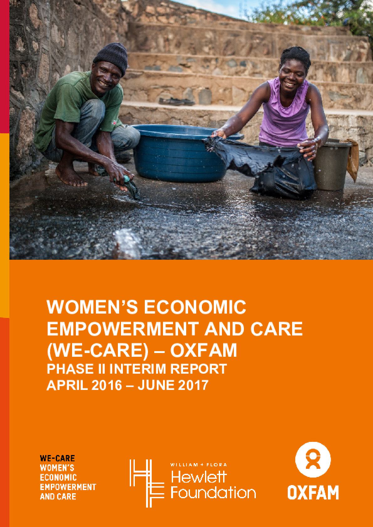 Women's Economic Empowerment and Care (WE-Care) - Oxfam: Phase II Interim Report