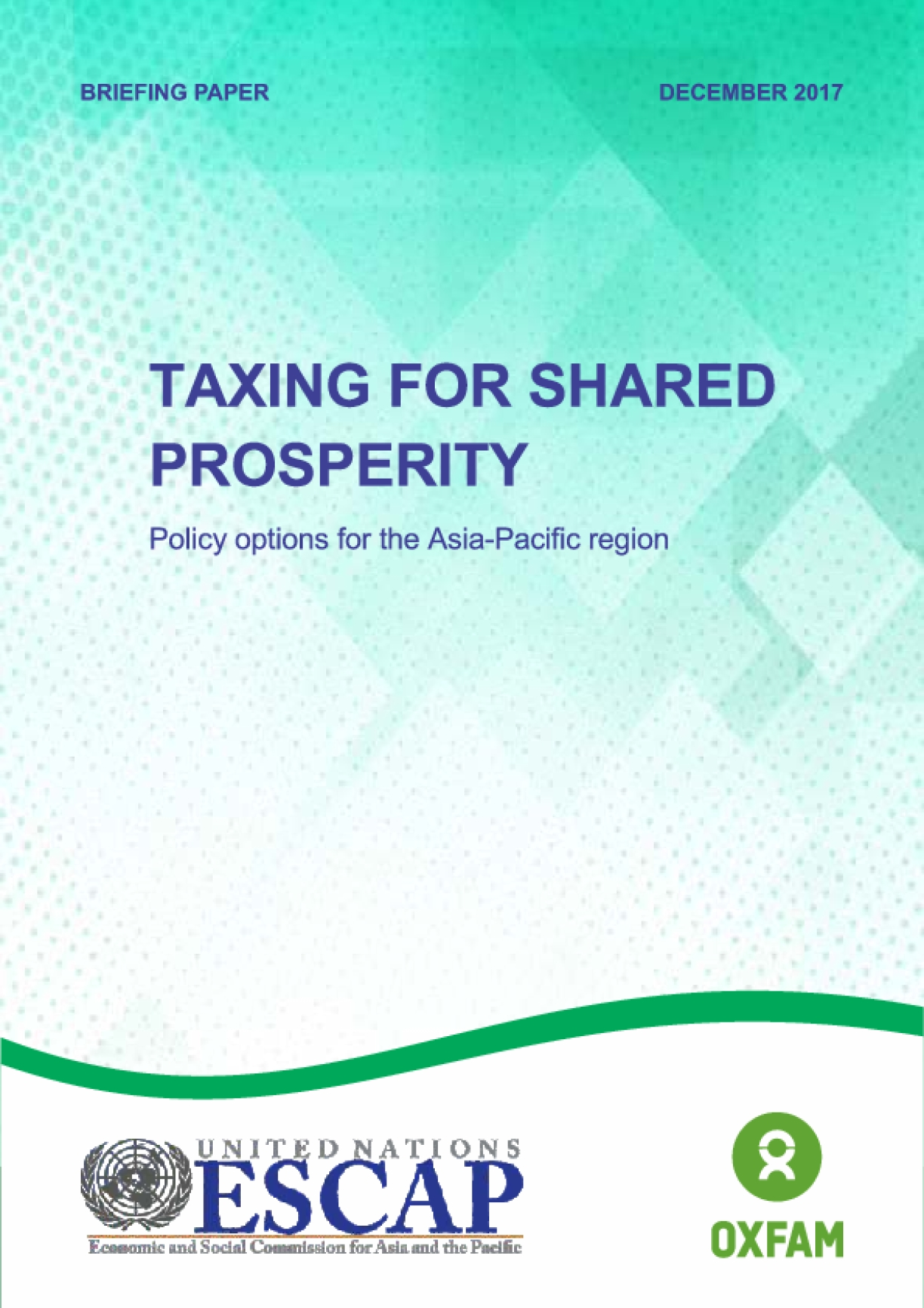Taxing for Shared Prosperity: Policy Options for the Asia-Pacific Region