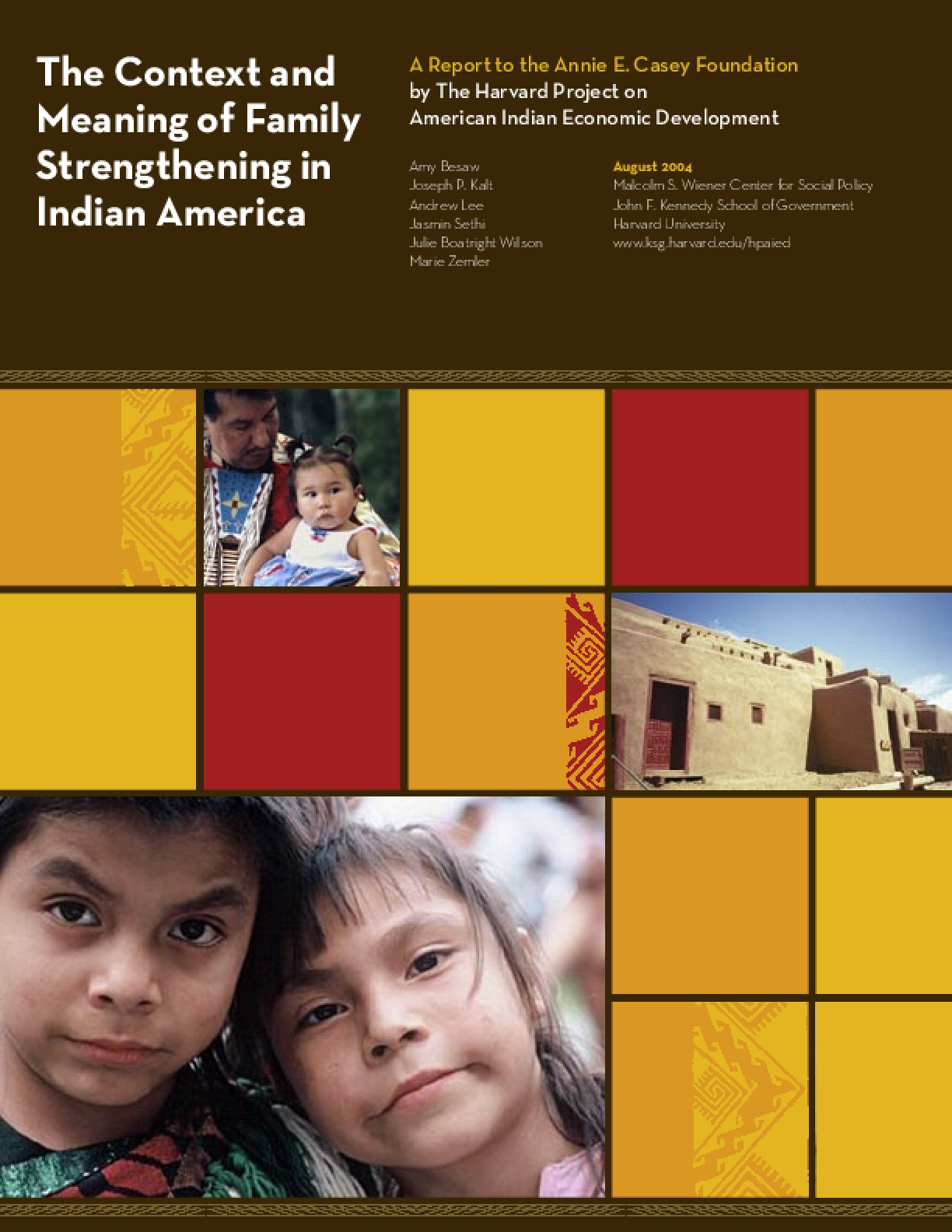 The Context and Meaning of Family Strengthening in Indian America