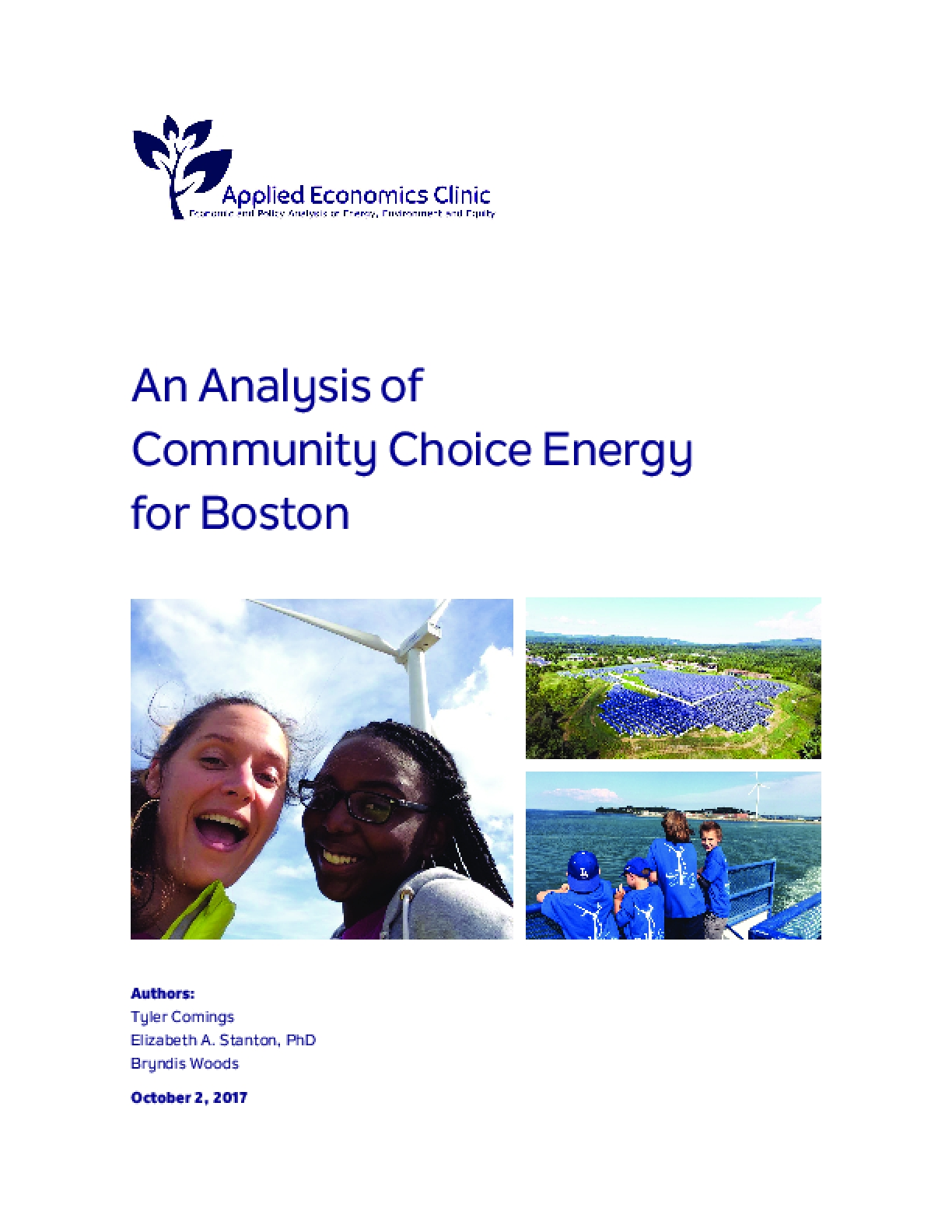 An Analysis of Community Choice Energy for Boston