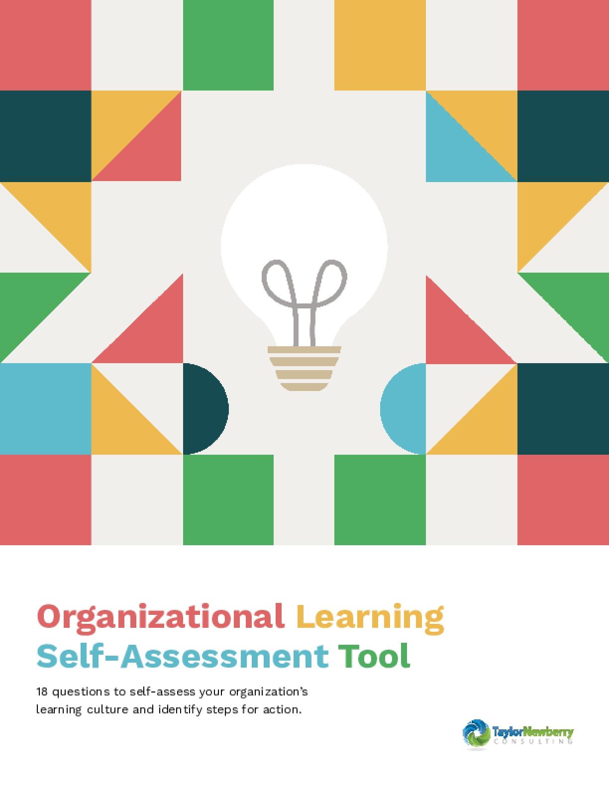 Organizational Learning Self-Assessment Tool