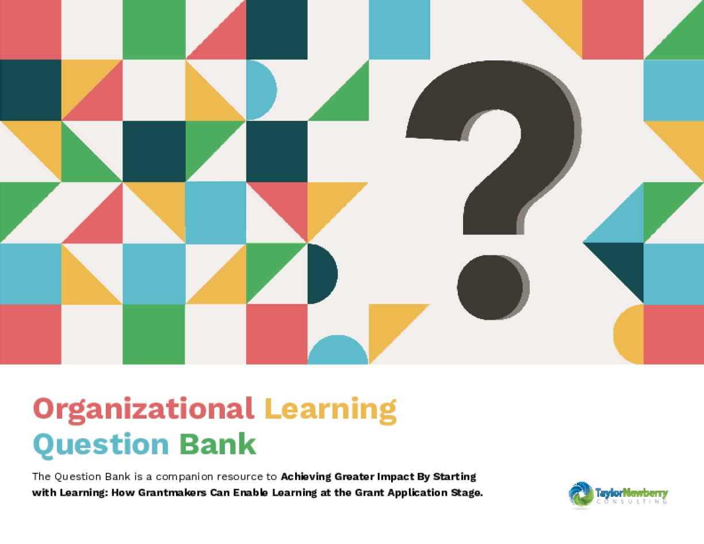 Organizational Learning Question Bank