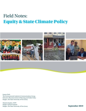 Field Notes: Equity & State Climate Policy
