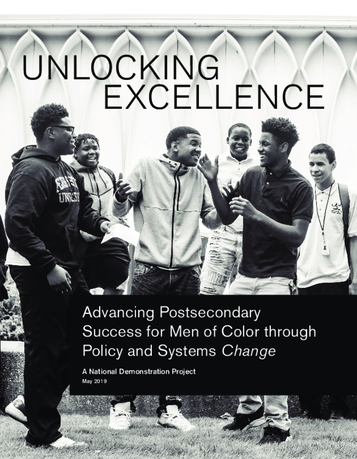 Advancing Postsecondary Success for Men of Color through Policy and Systems Change