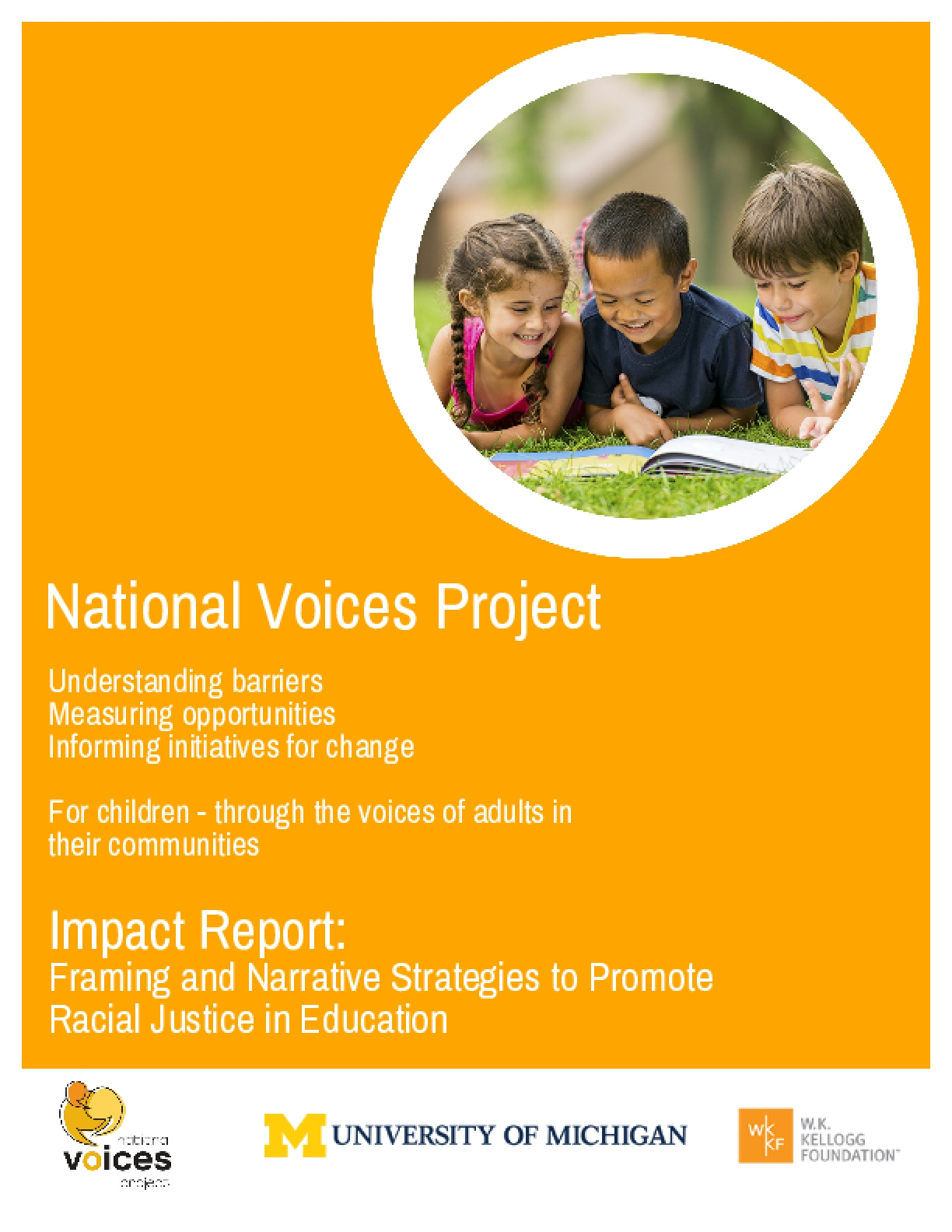 Impact Report: Framing and Narrative Strategies to Promote Racial Justice in Education