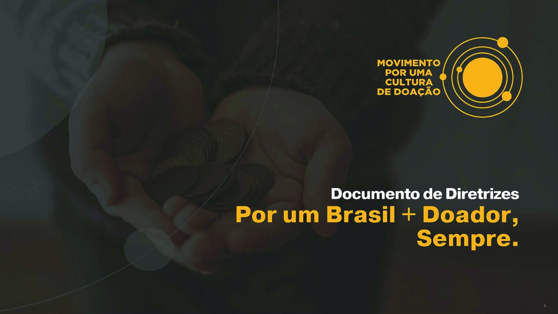 Por um Brasil + Doador, Sempre